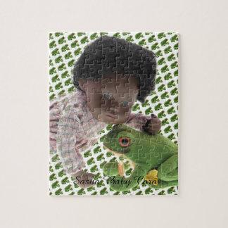 519 Sasha Cara Black baby puzzle