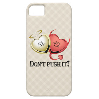 51% Good 49 % Bad Dont Pust It! iPhone 5 Cases