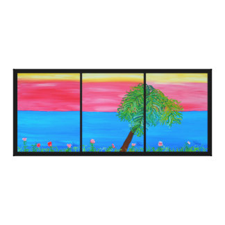 51' x 22' - Picture  Serene Canvas Print