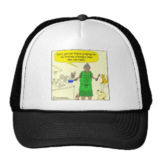 526 cook for favors cartoon mesh hats