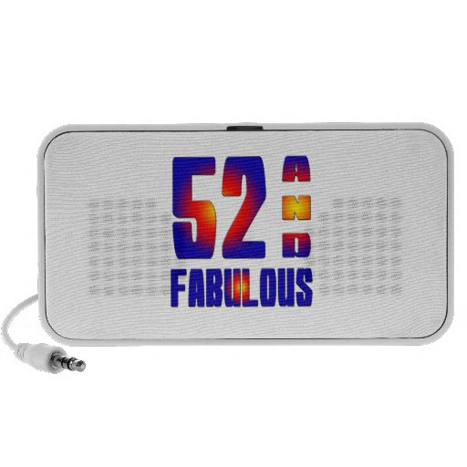 52 And Fabulous Notebook Speaker