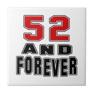 52 birthday designs tiles