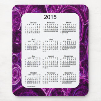 52 Weeks 2015 Calendar by Janz Marbled Mousepad