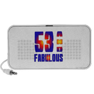 53 And Fabulous Speaker System