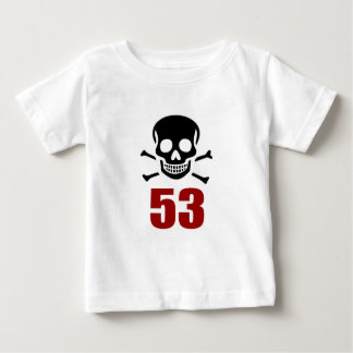 53 Birthday Designs Baby T-Shirt