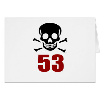 53 Birthday Designs Card