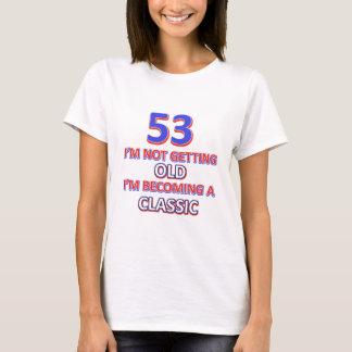 53 birthday designs T-Shirt
