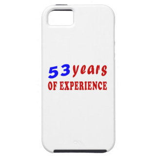 53 years of experience iPhone 5/5S cover