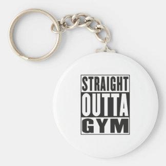 5493909_1005209701_Straight_Outta_Gym_v2_orig.ai Basic Round Button Key Ring
