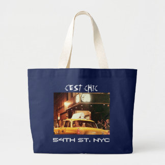 54TH ST. NYC LARGE TOTE BAG