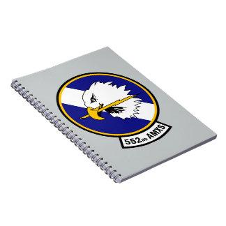 552nd Aircraft Maintenance Squadron - AMXS Spiral Note Book