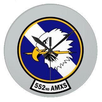552nd Aircraft Maintenance Squadron - AMXS Wall Clock