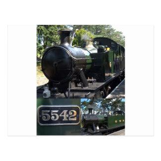 5542 Steam Locomotive Postcards