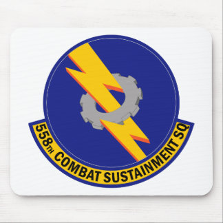 558th Combat Sustainment Squadron Mouse Pad