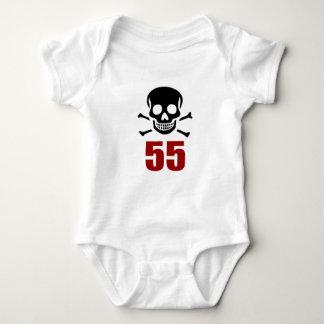 55 Birthday Designs Baby Bodysuit