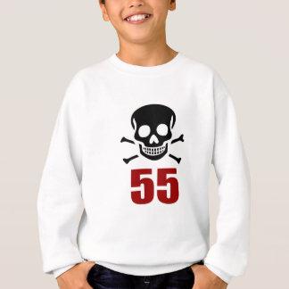 55 Birthday Designs Sweatshirt