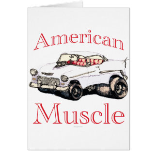 55 chevy American Muscle Card