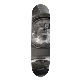 55 Chevy Headlight Grayscale 19.7 Cm Skateboard Deck