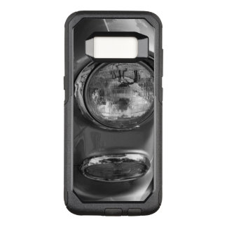 55 Chevy Headlight Grayscale OtterBox Commuter Samsung Galaxy S8 Case