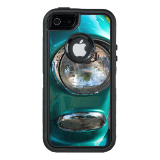 55 Chevy Headlight OtterBox Defender iPhone Case