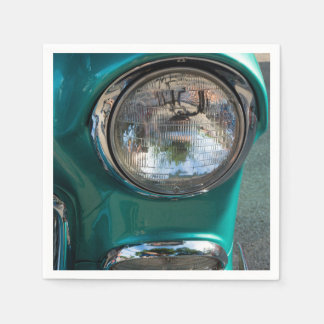 55 Chevy Headlight Paper Napkins