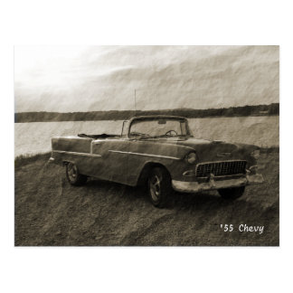 '55 Chevy Postcard