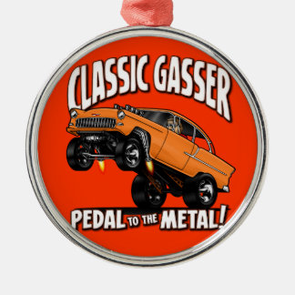 55 GASSER Flair Metal Ornament