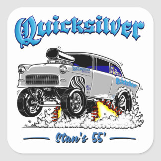 55 Gasser for Stan Square Sticker
