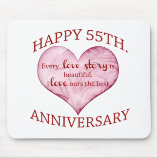 55th. Anniversary Mouse Pad
