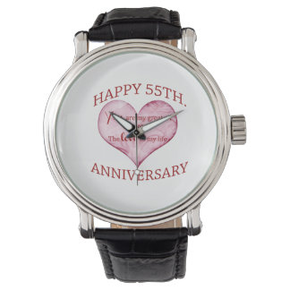 55th. Anniversary Watches