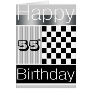 55th Birthday Card