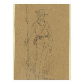 55th Georgia Infantry Postcard