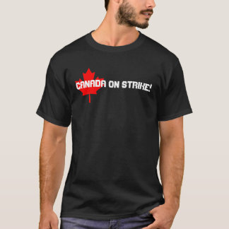 562px-Canada_Maple_Leaf.svg, Canada on STRIKE! T-Shirt