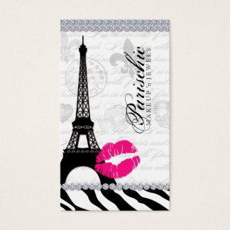 565 Cosmetologist Business Card Paris Eiffel Tower