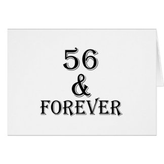 56  And Forever Birthday Designs Card
