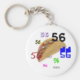 56 Tacos Key Ring