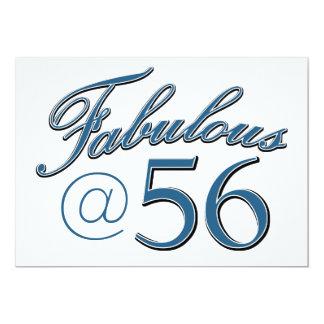56  year old birthday designs card