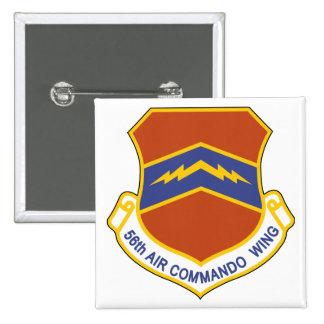 56th Air Commando Wing (ACW) 15 Cm Square Badge