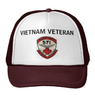 571st DUSTOFF ORIGINAL UNIT PATCH HAT