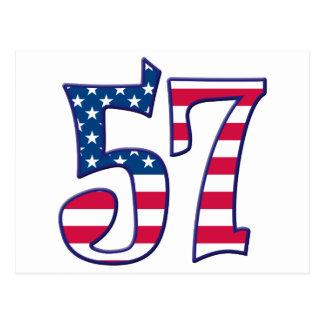 57 Age USA Postcard