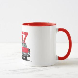 """""""57 Buick station wagon mug. Mug"""