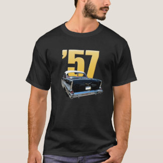 '57 Chevy Bel Air Rear View T-Shirt
