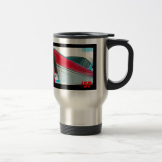 57 Chevy Bel Air Travel Mug