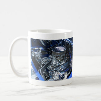'57 Chevy Chrome Engine - Coffee Mug