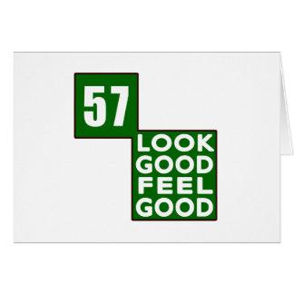 57 Look Good Feel Good Card