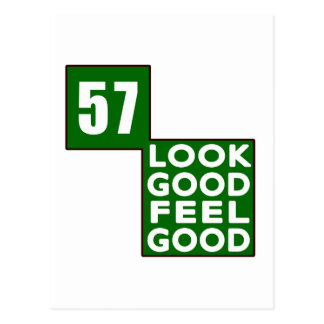 57 Look Good Feel Good Post Card