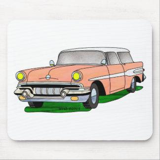 57 Pontiac Safari Mouse Pad