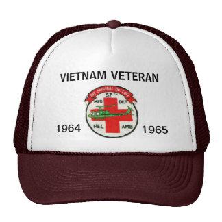 57th DUSTOFF ORIGINAL UNIT PATCH MESH HAT