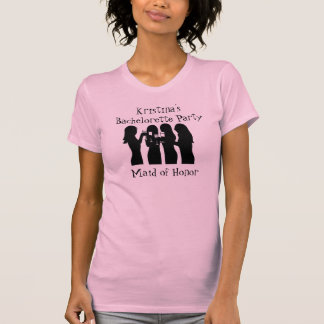 58192, Party Girl Bachelorette Party (Maid of H) T-Shirt