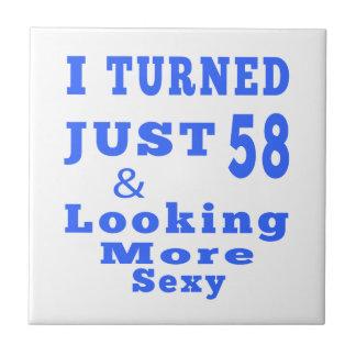 58 birthday designs ceramic tile
